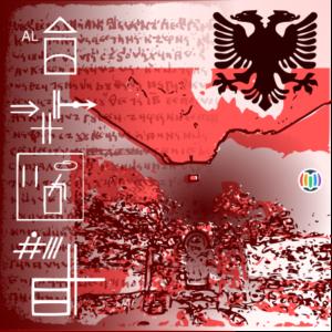 Albanian alphabets