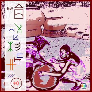 Earthenware pottery-making in Kgatleng