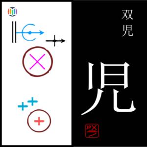 児 ko – Kagoshima Prefecture