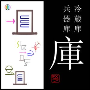 庫  ko – Hyōgo Prefecture