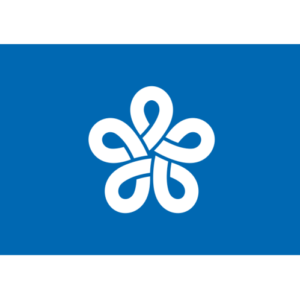 Fukuoka Prefecture (Flag)