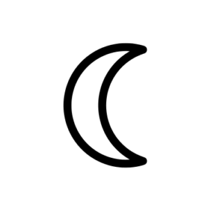 Moon Astronomical Symbol
