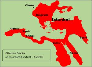 Ottoman Empire – map